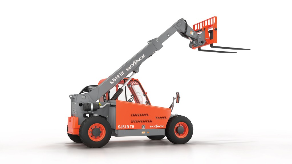 Skyjack shows off compact telehandler at the Rental Show