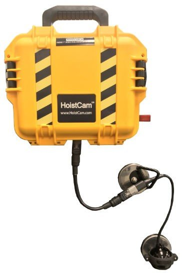 HoistCam's new low profile and 360-degree rotation deliver better view of the load