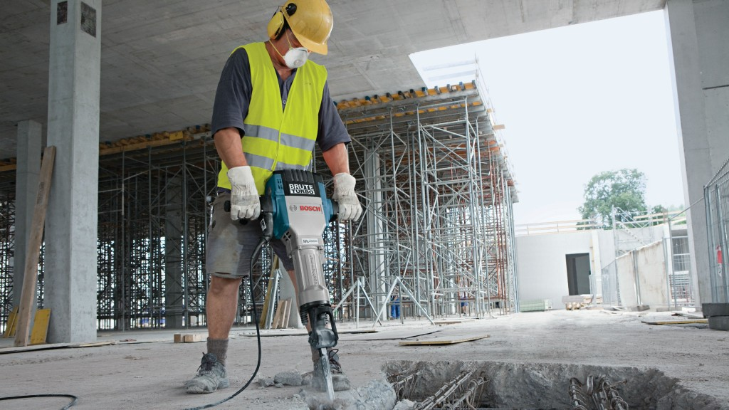 Bosch's GPS tracking ensures that jobsite managers know where tools are at all times.