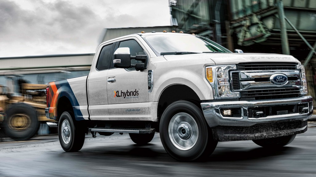 XL Hybrids introduces first-ever hybrid-electric F-250 at Work Truck Show