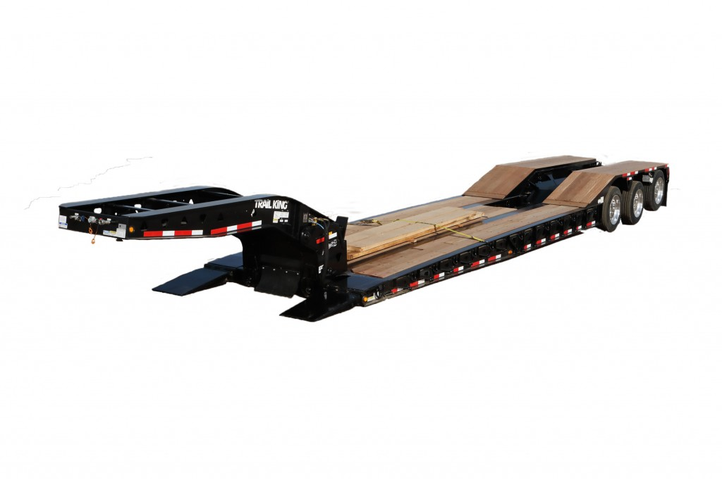 Trail King Industries, Inc. - HDG Paver Special Lowboy Trailers