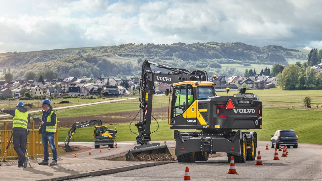 Volvo adds three new models to its wheeled excavator lineup