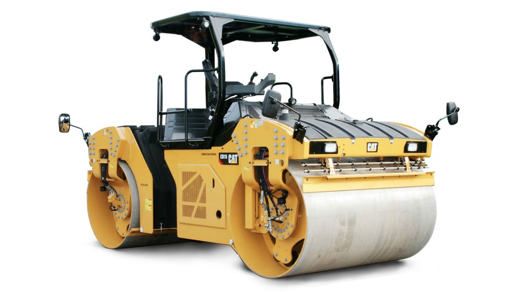 Caterpillar production-class Tandem Vibratory Rollers offer
