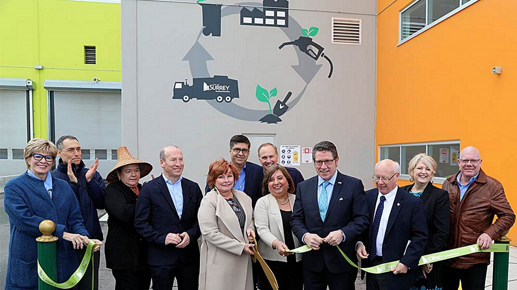 First of its kind closed-loop waste management system opens in Surrey