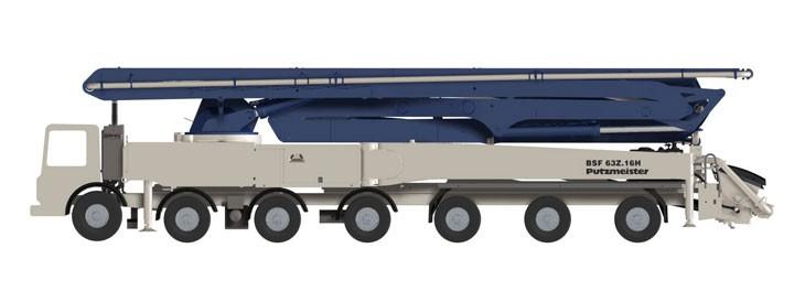 Putzmeister America Inc. - 63Z-Meter Concrete Pump Trucks