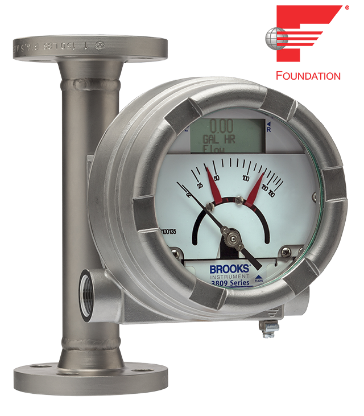 Fieldbus transmitter added to popular variable area flow meter