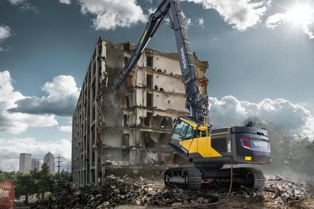 Volvo Construction Equipment - EC480E HR Demolition Excavators