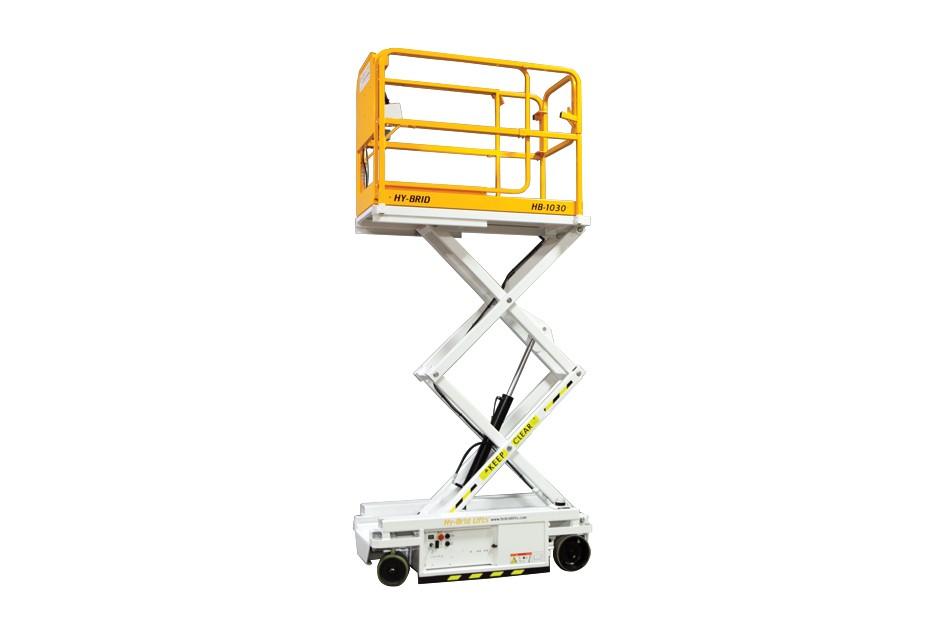 Custom Equipment, Inc. / Hy-Brid Lifts - HB-1030 Scissor Lifts