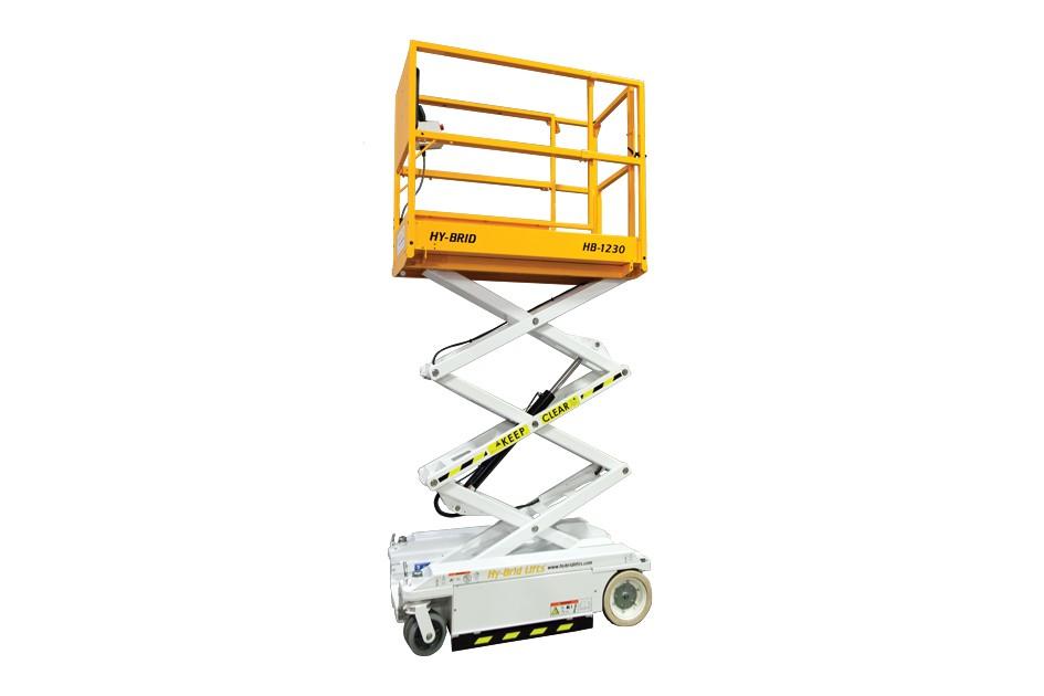 Custom Equipment, Inc. / Hy-Brid Lifts - HB-1230 Scissor Lifts