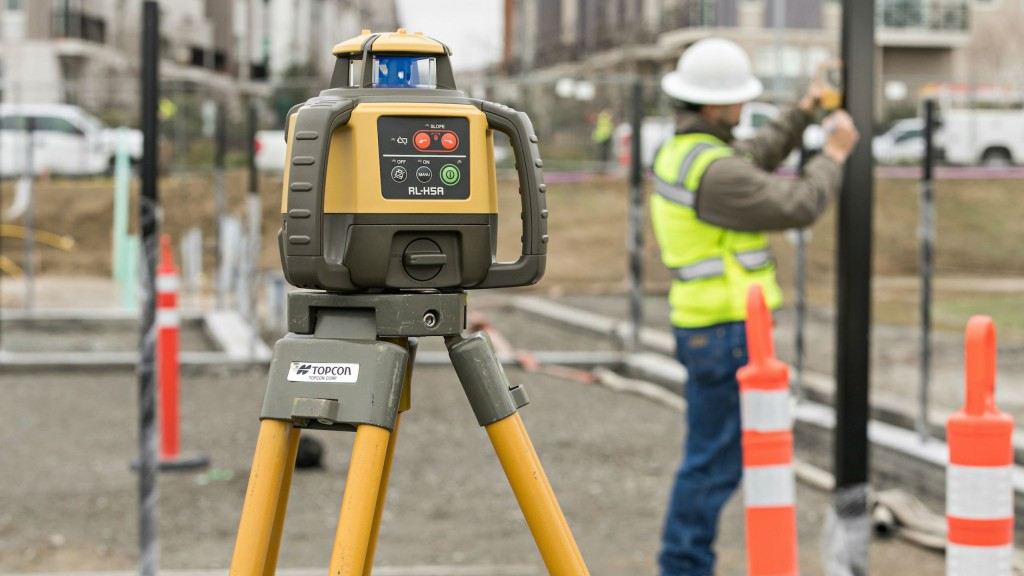 Lasers in Topcon's RL-H5 series include options in working range of up to 800 metres and up to 100 hours of battery life.