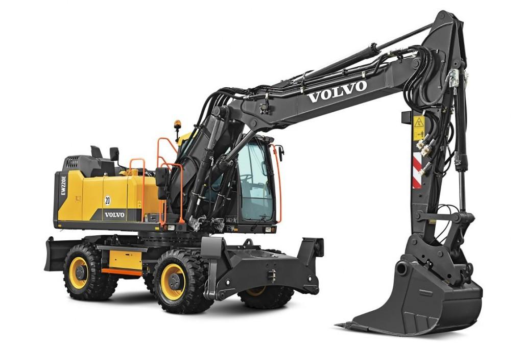 Volvo Construction Equipment - EW220E Wheeled Excavators