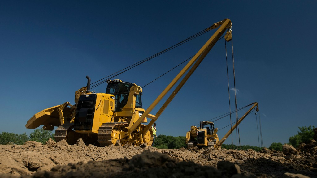 Cat updates PL61 pipelayer with added safety and performance