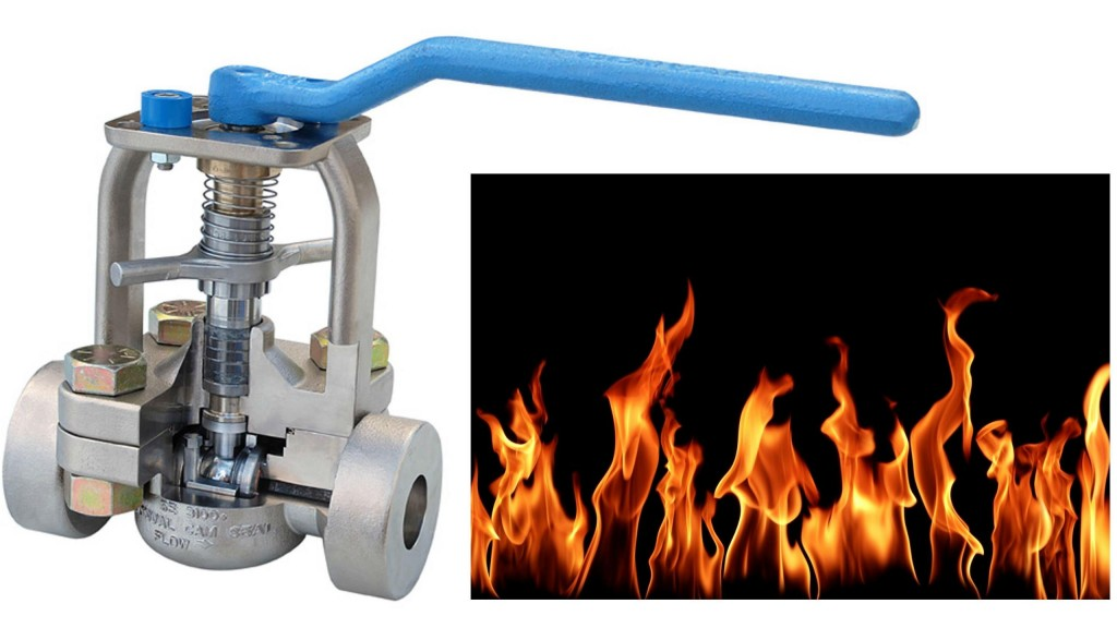 Conval fire-safe globe and ball valves