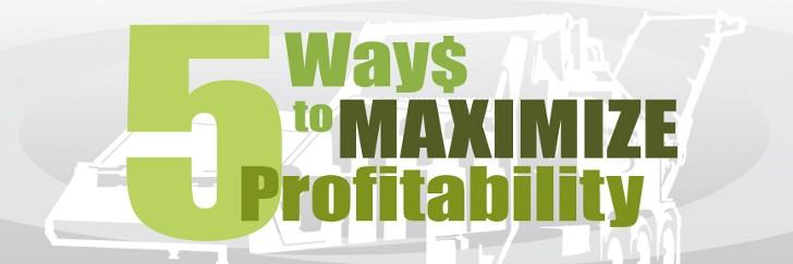 Five ways to maximize grinder profitability