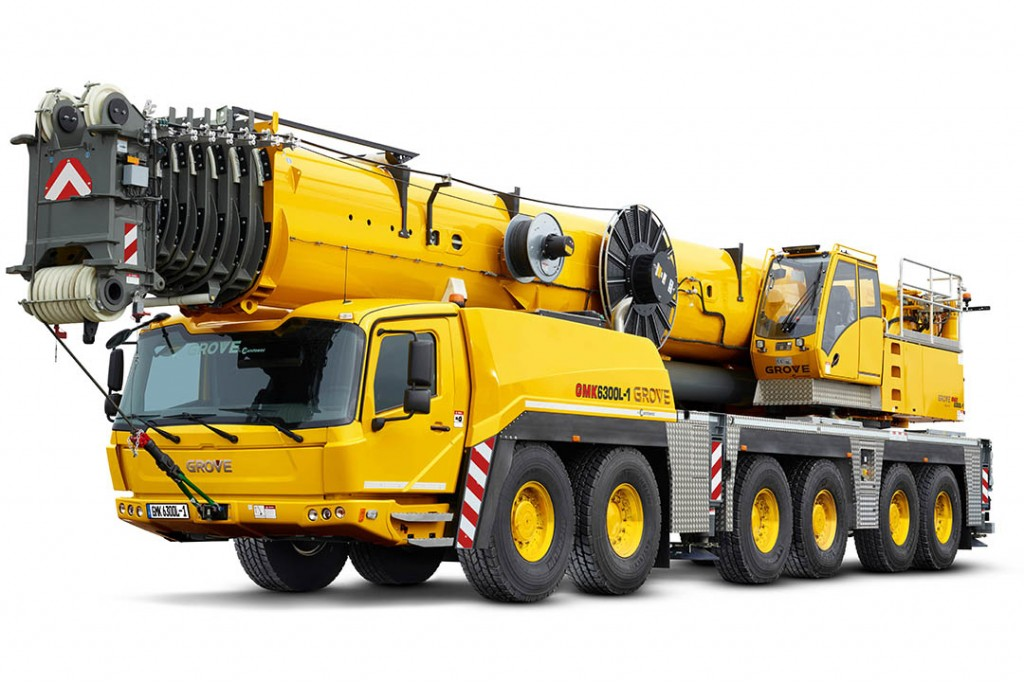 Manitowoc Company, Inc - GMK6300L All Terrain Cranes