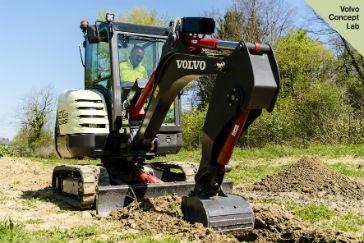 Volvo CE to showcase 100 percent electric compact excavator prototype at Intermat