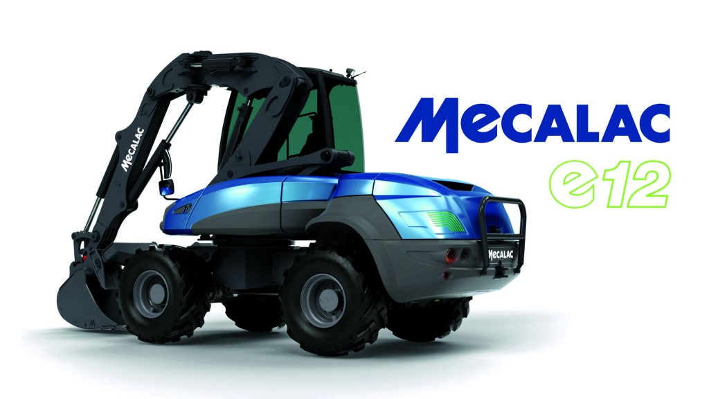 Mecalac's e12 was the winner of the Intermat Innovation Award for Energy Transition.