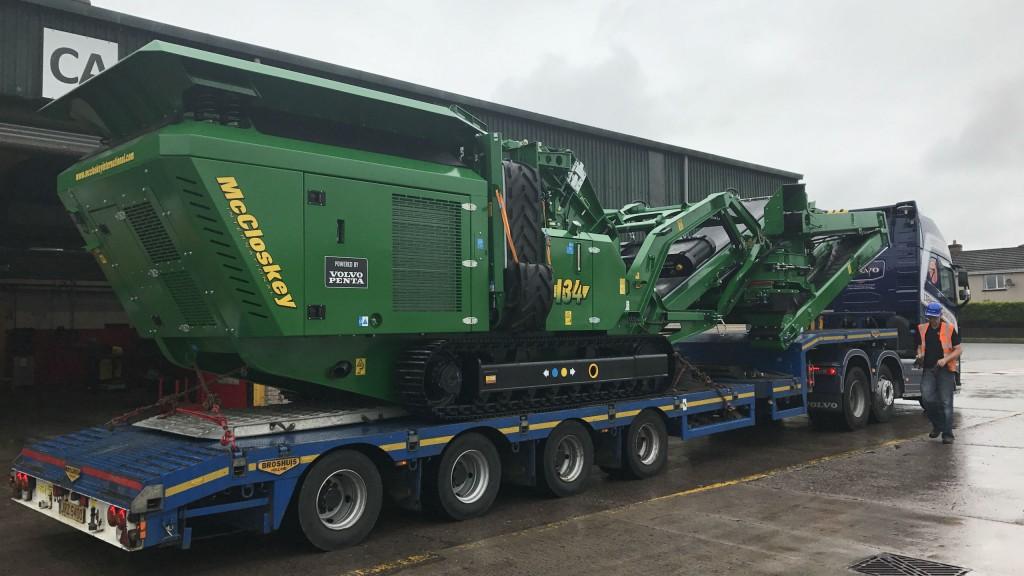 McCloskey to showcase compact impact crusher at Intermat