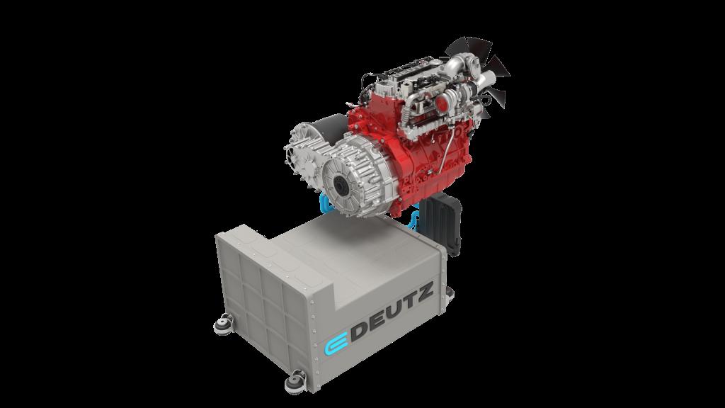 Deutz's first off-highway hybrid drive concept.