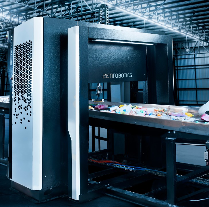 ZenRobotics Fast Picker reinforces line of heavy-duty waste sorting robots