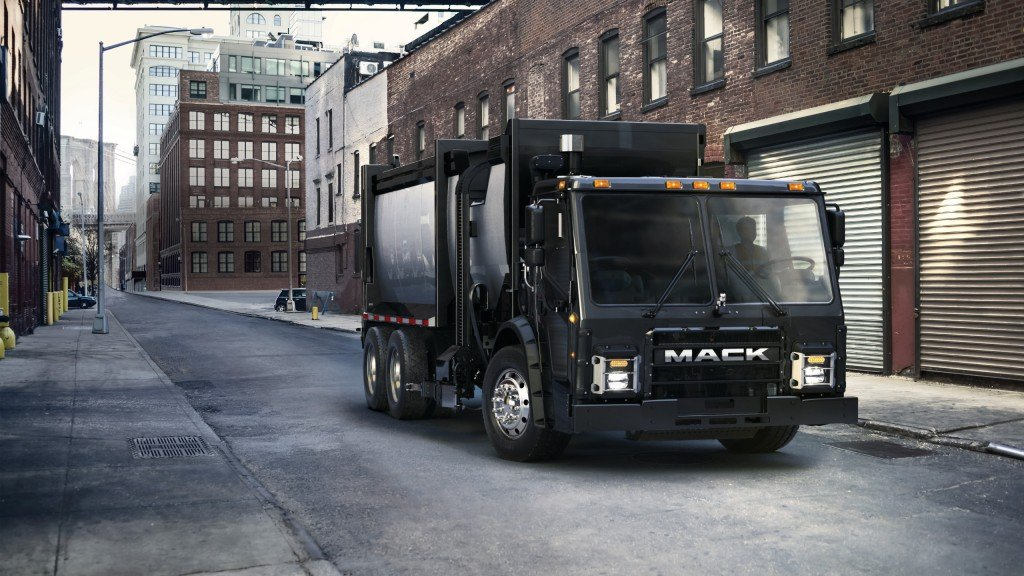 Mack to test fully electric collection vehicle in New York, in 2019