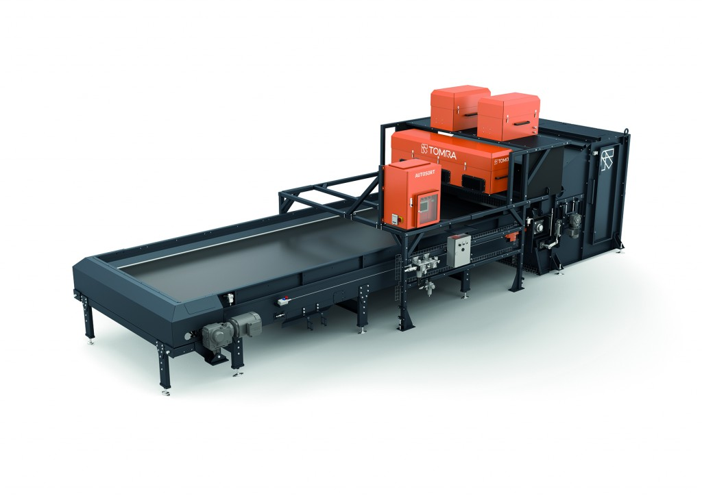 TOMRA Sorting Recycling featuring latest equipment innovations to meet tightening purity standards at Waste Expo