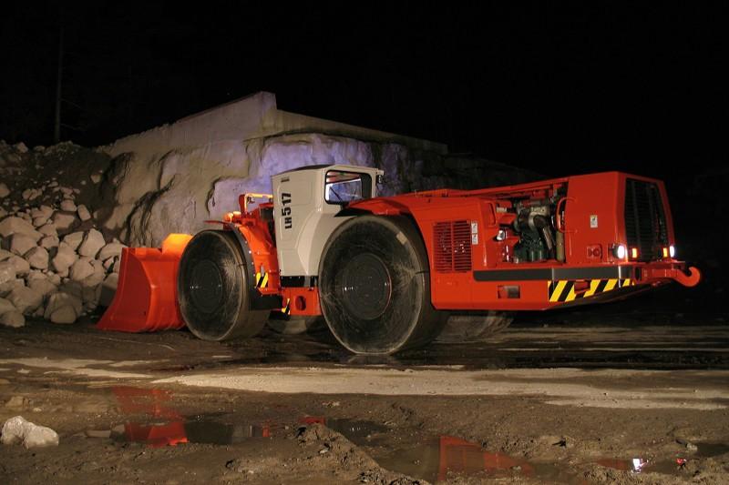 Sandvik - LH517 Underground Mining Loaders