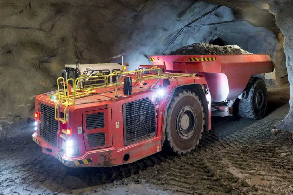 Sandvik - TH551i Underground Mining Trucks