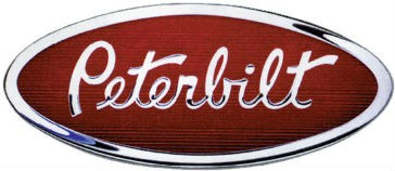 Peterbilt product lineup on display at Waste Expo