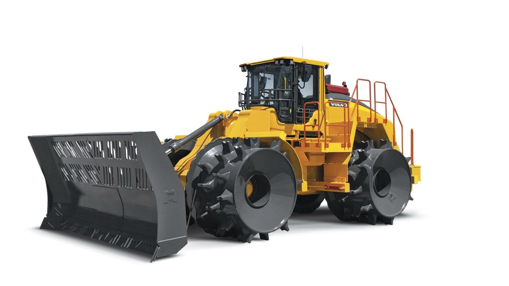 Volvo CE unveils its first purpose-built landfill compactor