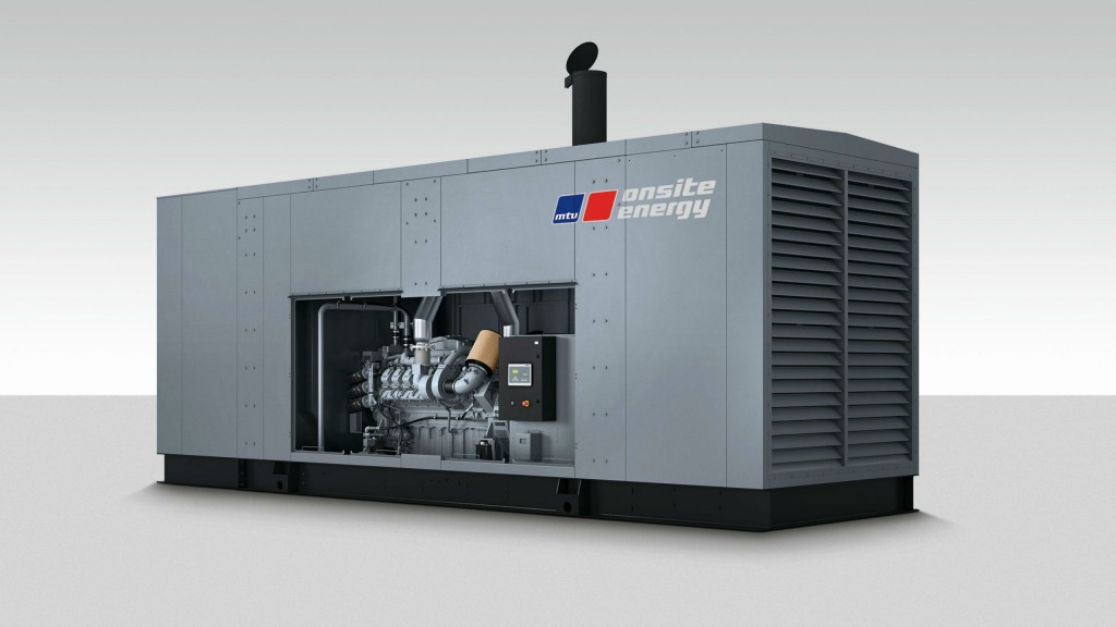 Rolls-Royce launches new MTU diesel gensets for North America