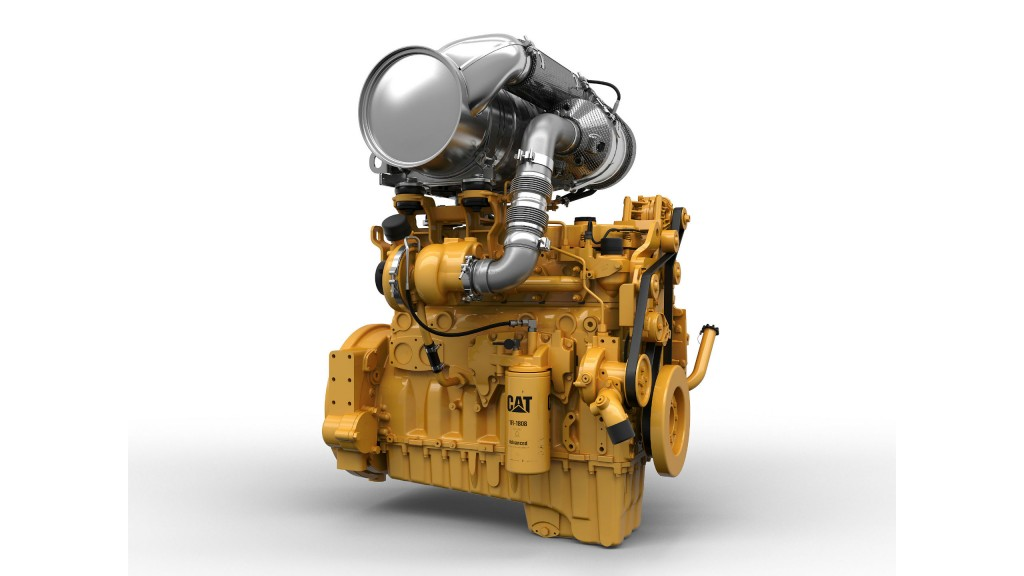 Stage V engines from Caterpillar productive, fuel-efficient and powerful