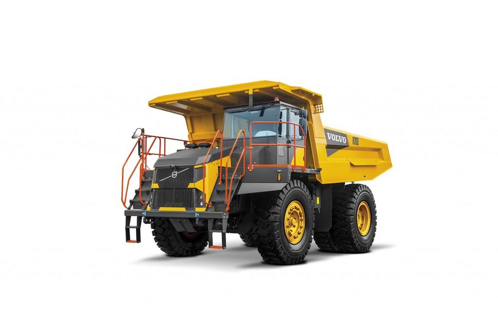 Volvo Construction Equipment - R70D Rigid Haulers