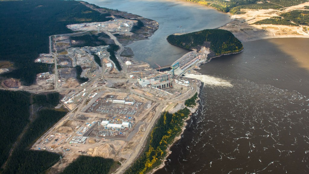 Unique access solution from SPG on site at Muskrat Falls