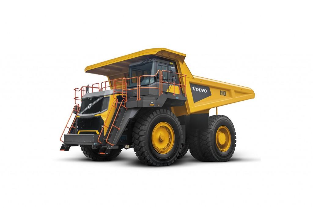 Volvo Construction Equipment - R100E Rigid Haulers