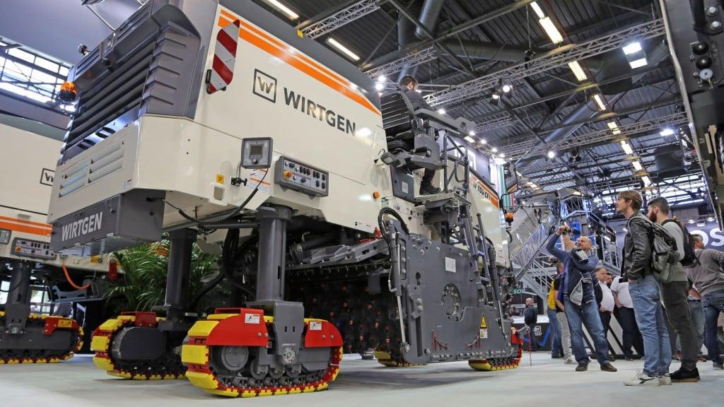 Wirtgen Group technologies impress at Intermat