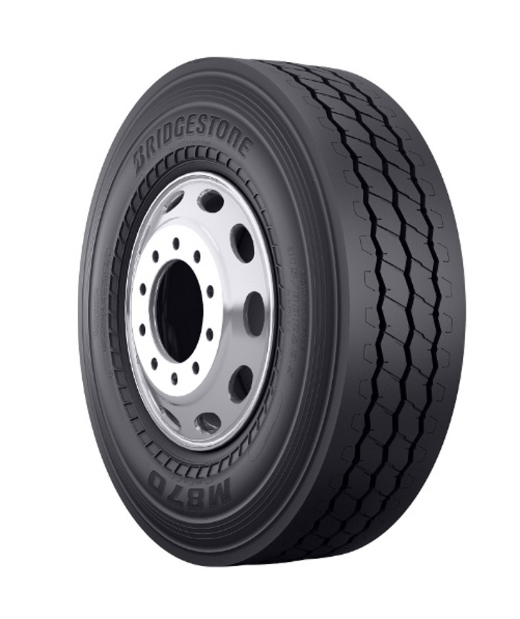 ​Bridgestone showcases latest waste industry tires at WasteExpo 2018