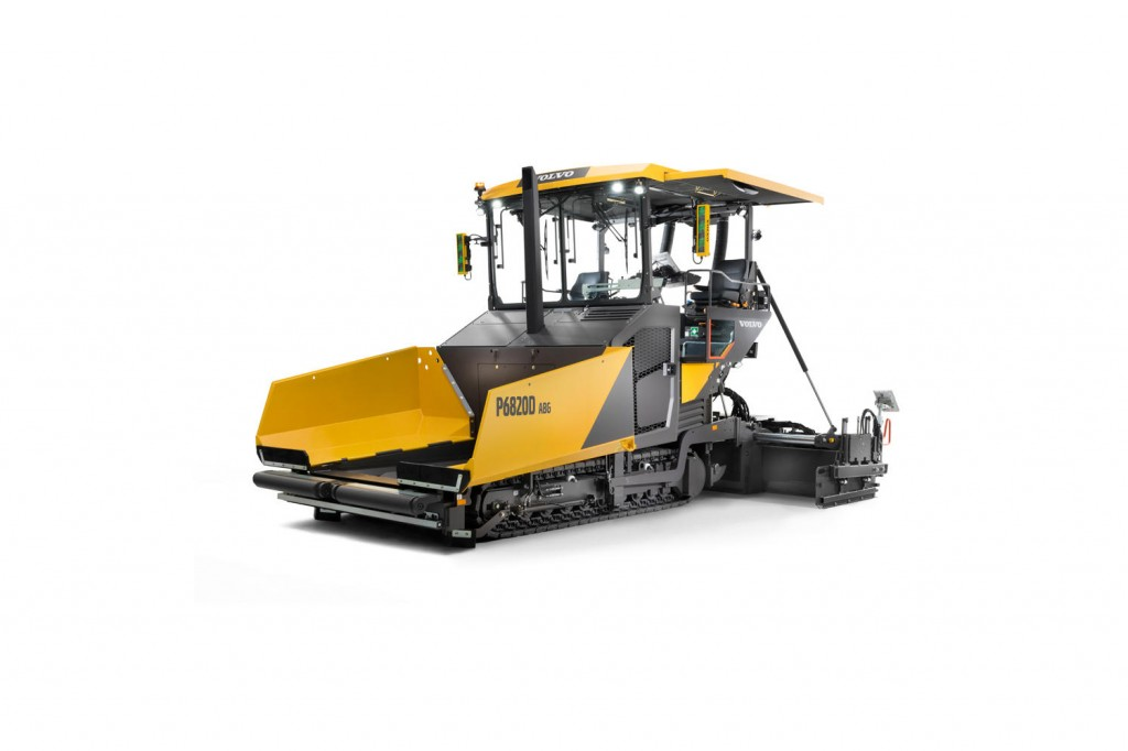 Volvo Construction Equipment - P6820D Asphalt Pavers