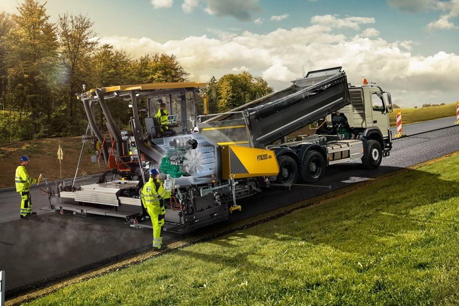 Volvo Construction Equipment - P7820D ABG Asphalt Pavers