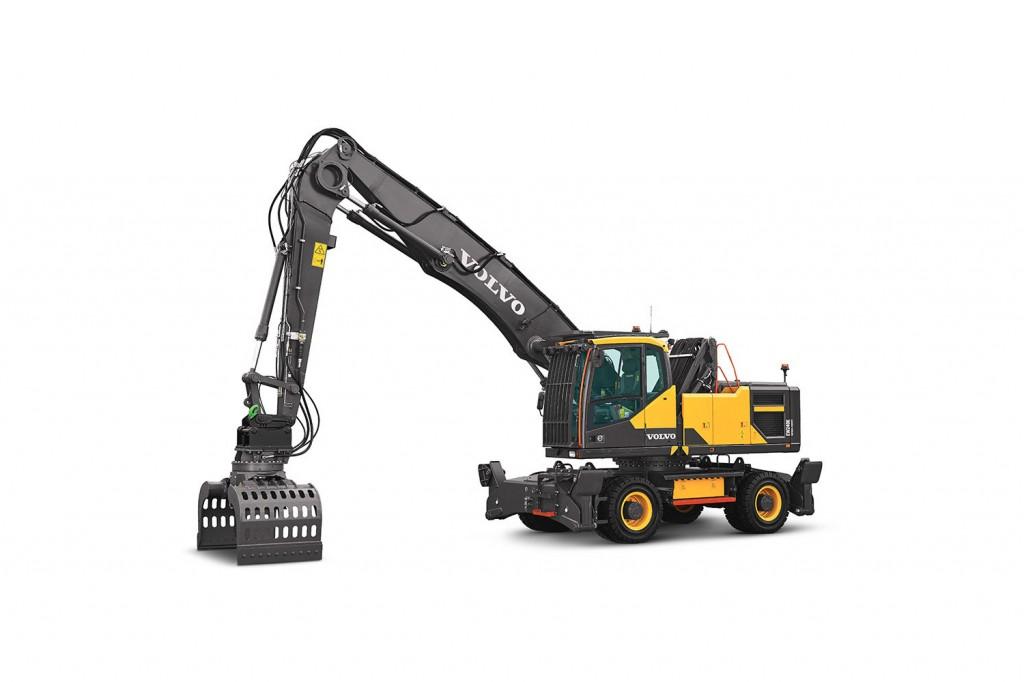 Volvo Construction Equipment - EW240E Wheeled Excavators