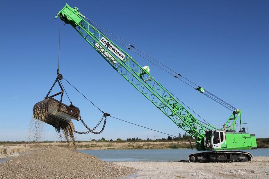 SENNEBOGEN LLC - 655 HD Crawler Crawler Cranes