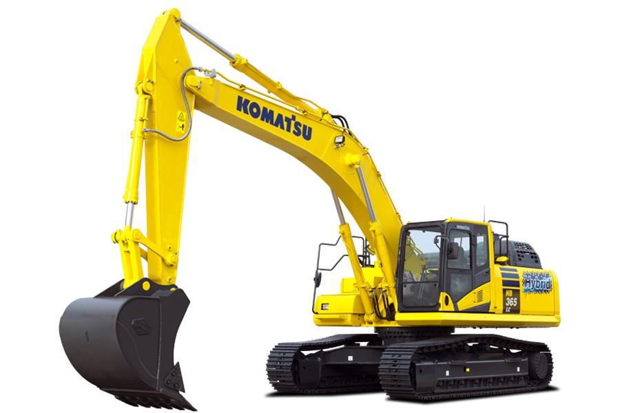 Komatsu America Corp. - HB365LC/NLC-3 Hybrid Excavators