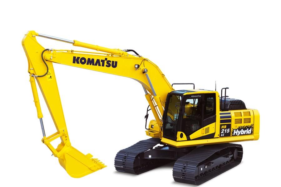 Komatsu America Corp. - HB215LC-2 Hybrid Excavators