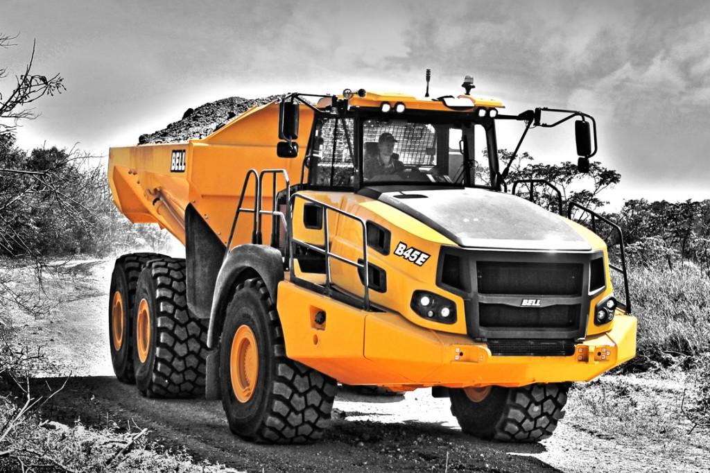 Bell Equipment (North America) - B45E Articulated Dump Trucks