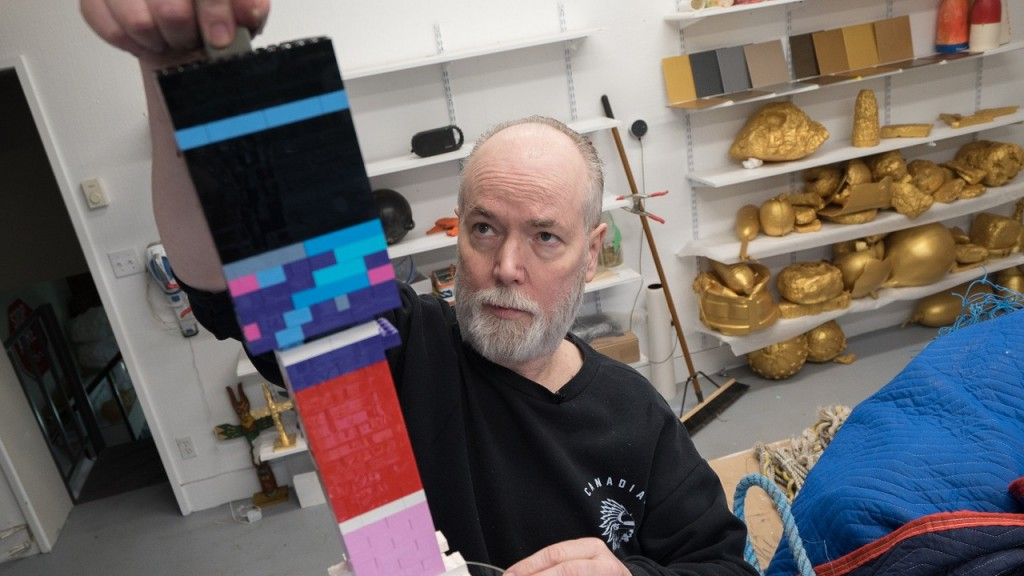 Acclaimed artist Douglas Coupland gets radical with plastic to raise awareness about ocean pollution