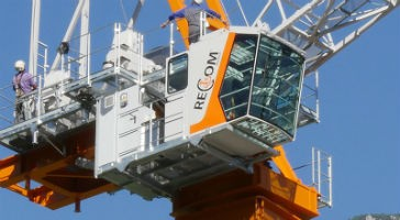 Founder of Recom Moritsch Cranes visits Toronto to meet with contractors and industry leaders