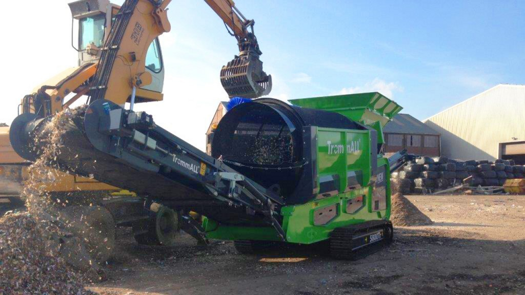 Ecoverse introduces TrommALL compact trommel