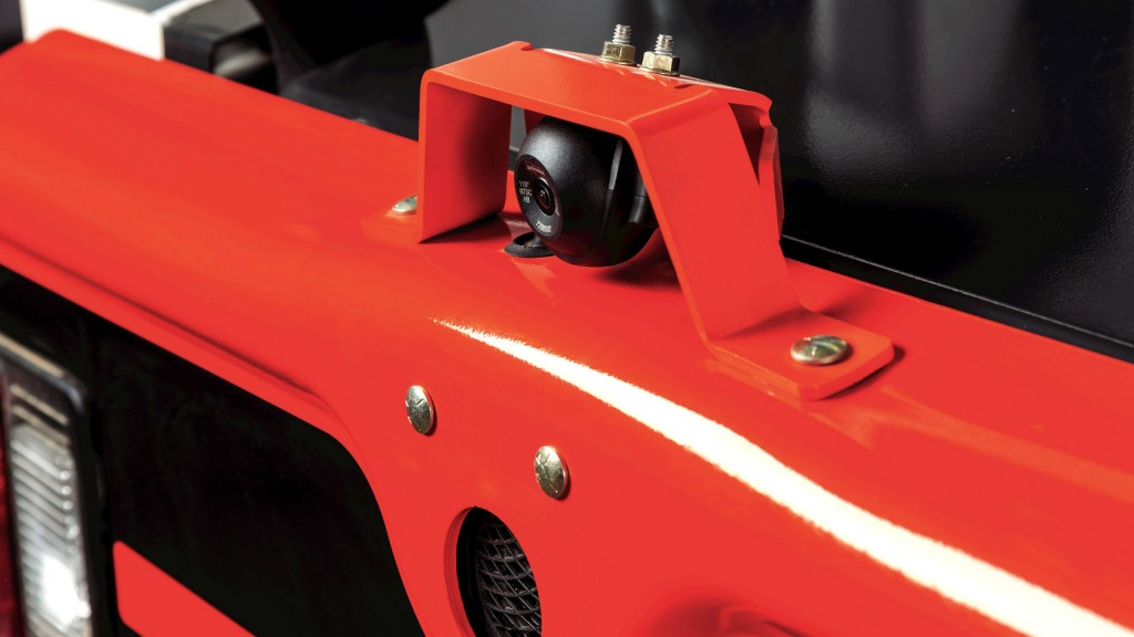 Bobcat Rear Camera Kit for skid-steer and compact track loaders offers continuous rear view of the machine
