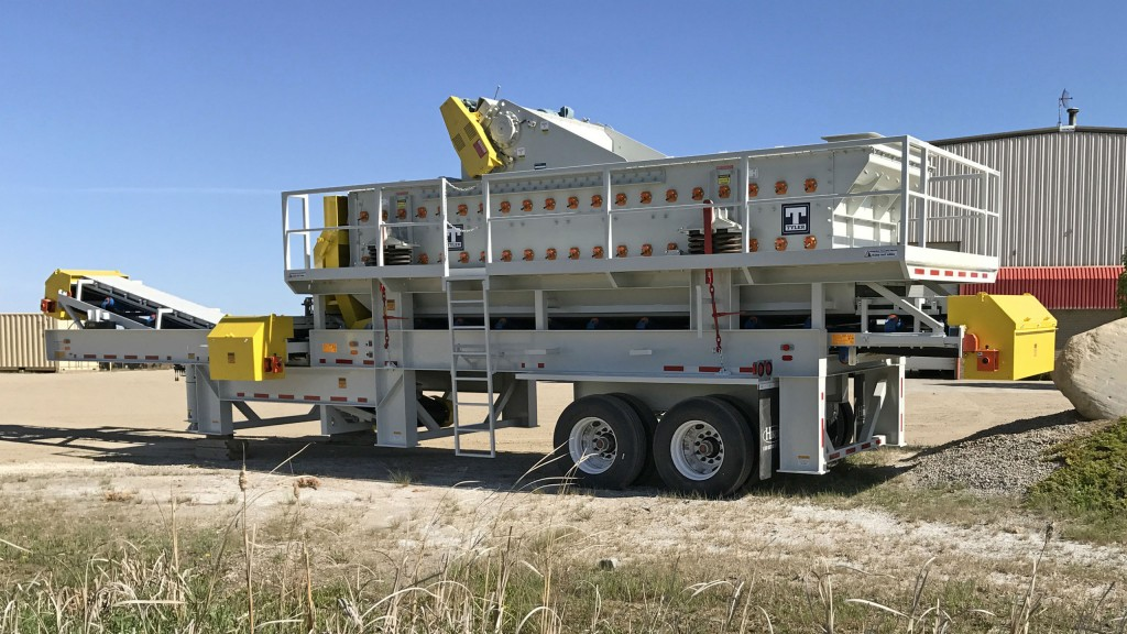 Versatile L-Class Vibrating Screen from Haver & Boecker