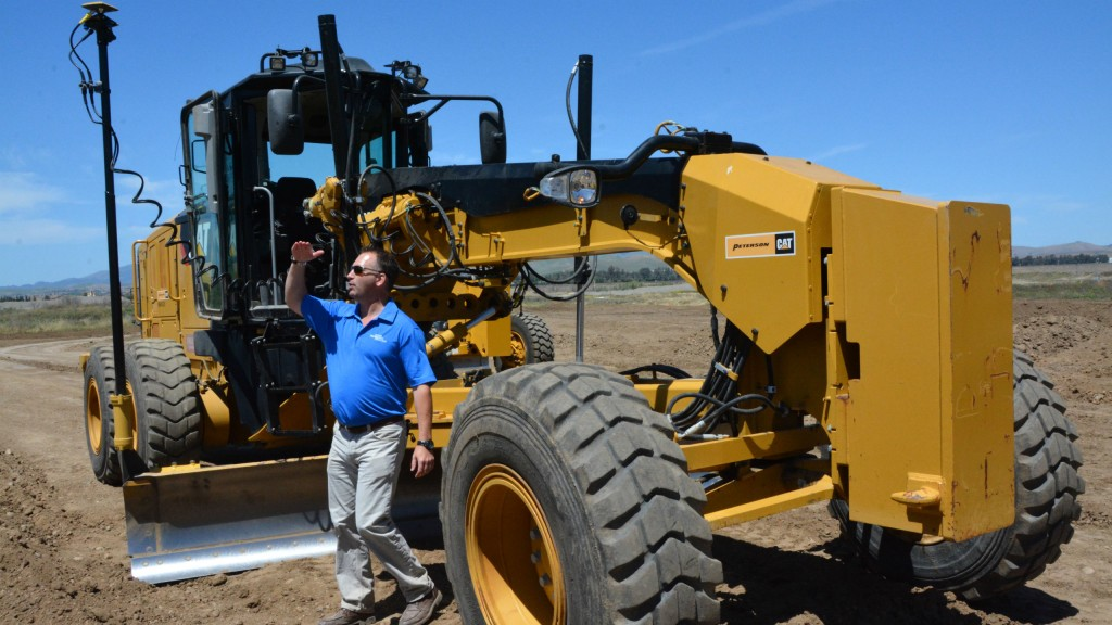 The Technology Roadshow features an array of hands-on demo opportunities with Topcon equipment, including machine control of various types.